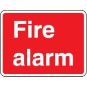 Fire Safety Sign - Fire Alarm Text 047